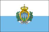 San Marino Flaggen