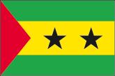 Sao Tomé und Principe Flaggen