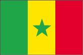Senegal Flaggen