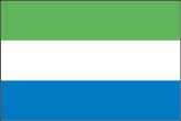 Sierra Leone Flaggen
