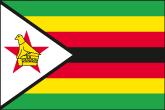 Simbabwe Flaggen