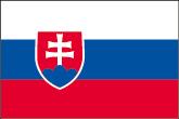 Slowakei Flaggen