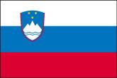 Slowenien Flaggen