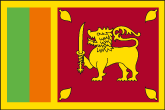 Sri Lanka Flaggen