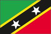 St. Kitts und Nevis Flaggen