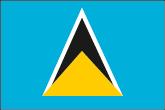 St. Lucia Flaggen