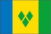 St. Vincent und Grenadinen Flaggen