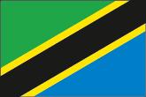 Tansania Flaggen