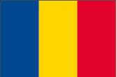 Tschad Flaggen