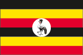 Uganda Flaggen