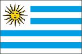 Uruguay Flaggen