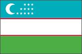 Usbekistan Flaggen