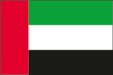 Vereinigte Arabische Emirate (VAE) Flaggen