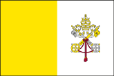 Vatikanstadt Flaggen
