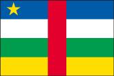 Zentralafrikanische Republik Flaggen