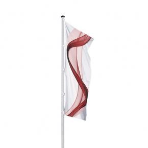 AURIGA II: Alu-Fahnenmast ohne Ausleger