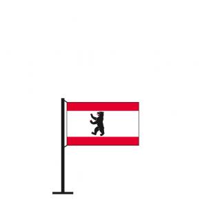 Tischflagge Berlin