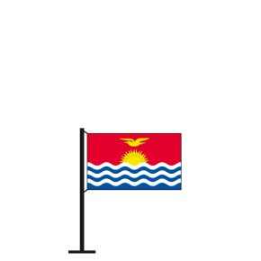 Tischflagge Kiribati