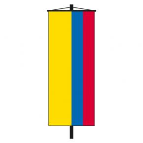 Banner-Fahne Kolumbien