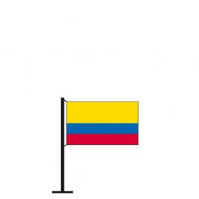 Tischflagge Kolumbien