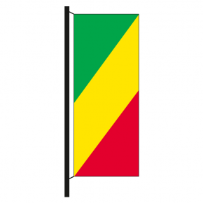 Hisshochflagge Kongo