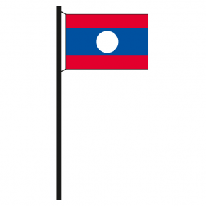Hissflagge Laos