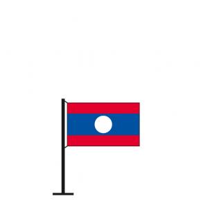Tischflagge Laos