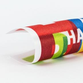 Deko-Banner: Material Poly-Dekosatin
