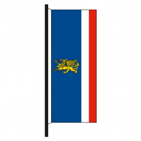 Hisshochflagge Rostock