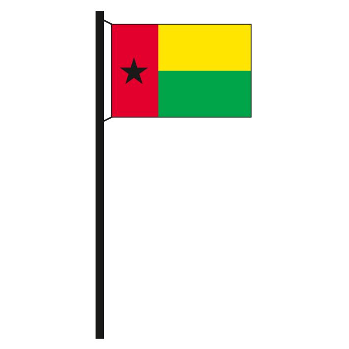 Fahne Flagge Guinea-Bissau 90 x 150 cm