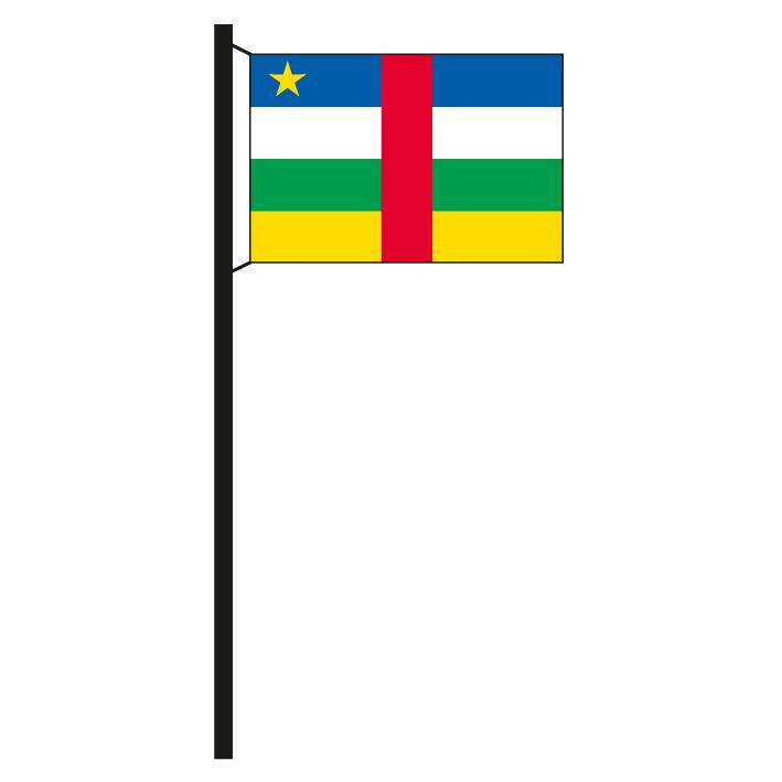 Fahne Flagge Wolfenbüttel 20 x 30 cm Bootsflagge Premiumqualität