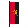 Hisshochflagge Angola
