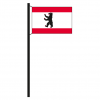 Hissflagge Berlin