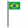 Hissflagge Brasilien