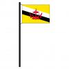 Hissflagge Brunei