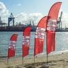 Beachflag 'Capri' Druck(frisch)