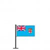 Tischflagge Fidschi