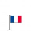 Tischflagge Frankreich
