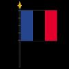 Zimmerfahne Frankreich