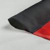 Option für Polytex®: mit Hohlsaum aus Gurtband für Ausleger-Masten | schwarz