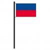 Hissflagge Haiti