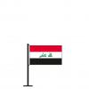 Tischflagge Irak