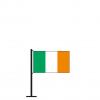 Tischflagge Irland