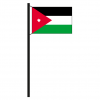 Hissflagge Jordanien