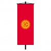 Banner-Fahne Kirgisistan