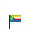Tischflagge Komoren