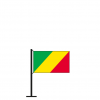 Tischflagge Kongo
