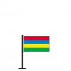 Tischflagge Mauritius