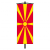 Banner-Fahne Mazedonien