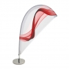 Mini-Beachflag 'Lüttje'